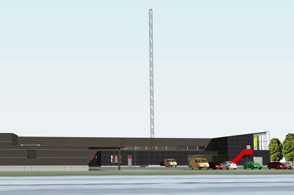 Brandstation Norr i Norrköping.