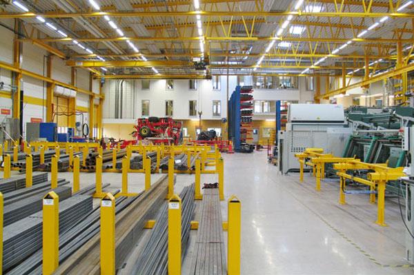 Nya fabriks- och kontorslokaler för Väderstaverken i Vädersta, Mjölby kommun.